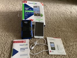 Like New TRACFONE LG Ultimate ANDROID