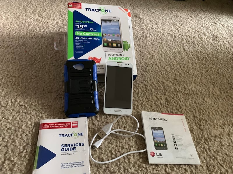 Like New TRACFONE LG Ultimate ANDROID b15331f7-d32c-4f0e-89bc-055dd315fc90