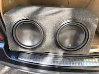 "JL 12"" W3's in box with amp! Price lowered $299"
