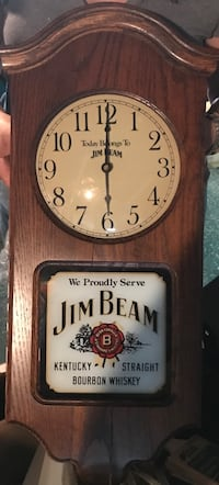 Jim Beam historical clock with authentication papers $55 BO Hasbrouck Heights, 07604