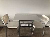Dining table with 2 chairs West Haven, 06516