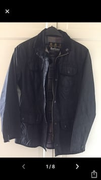 Barbour utility wax jacket 34/S -XS SİYAH
