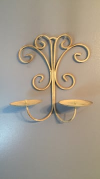 White wall candle sconce Port Coquitlam, V3B 3B2