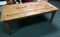 Reclaimed Harvest Farmhouse Rustic Wooden Dining Table