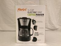 Parini 5-Cup Electric Drip Coffee Maker (New)  Minneapolis, 55436