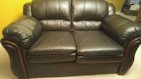 Bonded leather 2 seater sofa Ajax, L1T 0G7