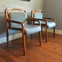 PAIR Mid century Chairs by Gunlocke Oklahoma City, 73107