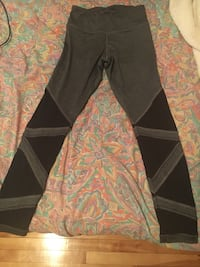 Ardene black patterned leggings 783 km
