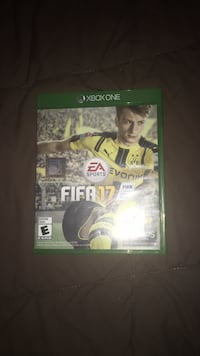 EA Sports FIFA 17 Xbox One game case 976 mi