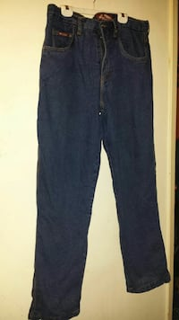 BC clothing lined jeans size 36/34