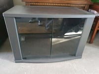 gray and black wooden TV stand Vancouver, V5X 2K6