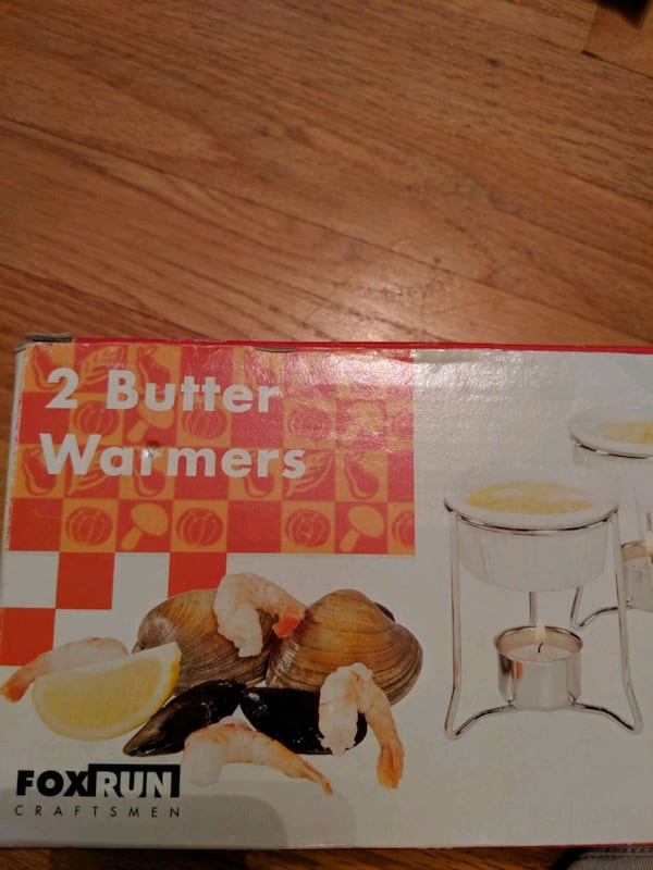 2 Butter Warmers 9002a673-bb97-4e15-8835-dd9fe7ecb42f