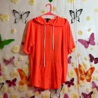 neon orange cover up / pull over Richfield, 55423