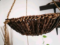 Indonesian crafted wicker hanging baskets  Victoria, V9A 6X1