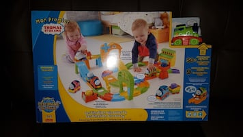 Thomas the train set brand new in box, never opened