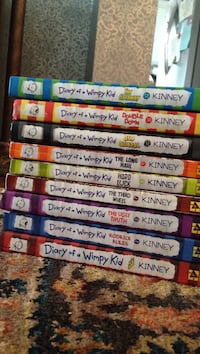 Diary of a wimpy kid 9 books  Toronto, M9N 2L7