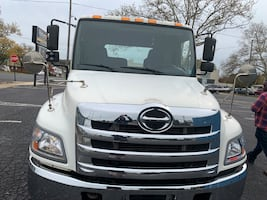 2011 Hino 268 Flatbed/Rollback Tow Truck