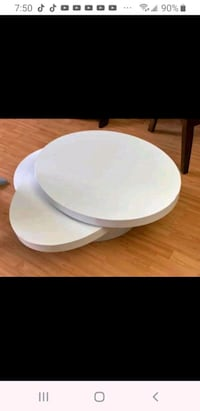 White coffee table for sale used condition