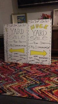 Yard sale - Saturday 29th Sunday 9-3 295 mi