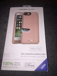 iPhone 7 Plus Nero rose gold battery case  San Clemente, 92672