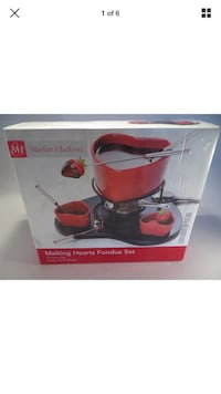Melting heart fondue set Gilbert, 85295