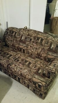 brown and black fabric sofa Longueuil, J4K 2W6