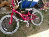 toddler's pink and white bicycle McAllen, 78501