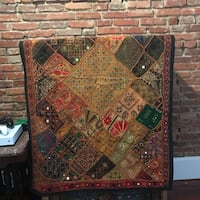 Indian tapestry or quilt Baltimore