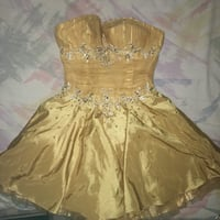 Yellow-Gold Homecoming/Prom dress Derwood, 20855