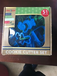 Holiday cookie cutters brand new. 51 pieces ! Leesburg  Leesburg, 20176