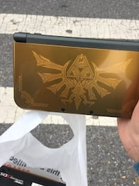 Zelda Gold New Nintendo 3DS XL