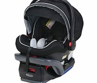baby's black and gray car seat carrier Gaithersburg, 20877