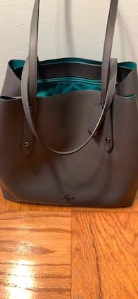 black and brown leather tote bag Lanham, 20706