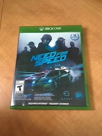 Need for speed Xbox one with 2 day live trial  Guelph, N1G