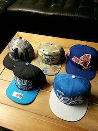 New snap back and fitteds