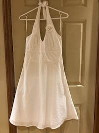 White Halter Summer Dress: Size 3 Oshawa, L1G 2J2