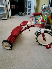 toddler's red and white trike Woonsocket, 02895