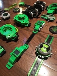 Ben 10 watches device collection