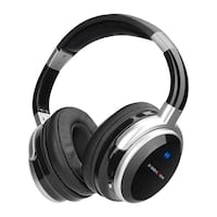 Active Noise Cancelling Bluetooth Headphones Over Ear Wired and Wireless Headset with Microphone, Hi-Fi Deep Bass, Comfortable Protein 215 mi