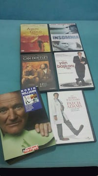 Sıfır dvd Robin Williams 5 dvd Ankara