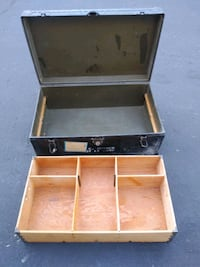 Vintage military chest