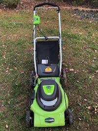 "GreenWorks 20"" Corded Electric Lawn Mower Vienna, 22180"