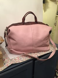Brand new pink leather bag  White Plains, 10603