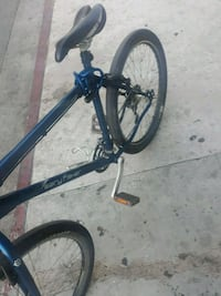 black and blue hard tail mountain bike Los Angeles, 90013