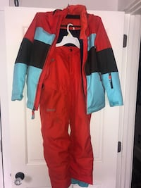 Marmot ski jacket and ski bibs. Kids ARLINGTON
