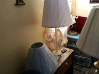 white and brown table lamp Warrenville, 29851