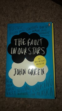The Fault in our Stars by John Green book Boulder City, 89005