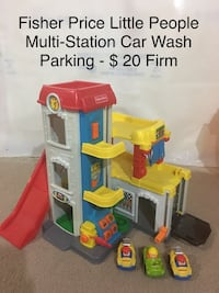 Fisher Price Little People Multi Station Car Wash Parking Winnipeg, R2V 0R2