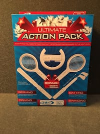 Wii Ultimate Action Sports Pack NEW, never used  Henderson, 89012