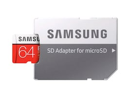 Samsung MicroSDXC EVO Plus Memory Card 64GB with Adapter